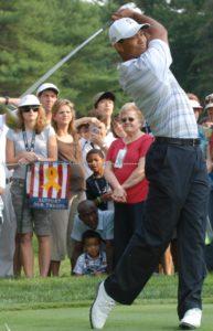 Tigr Woods Golf Swing Finish