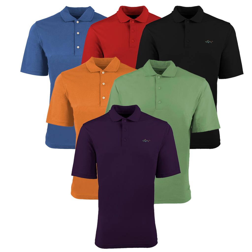 Greg Norman Golf Polo Shirts